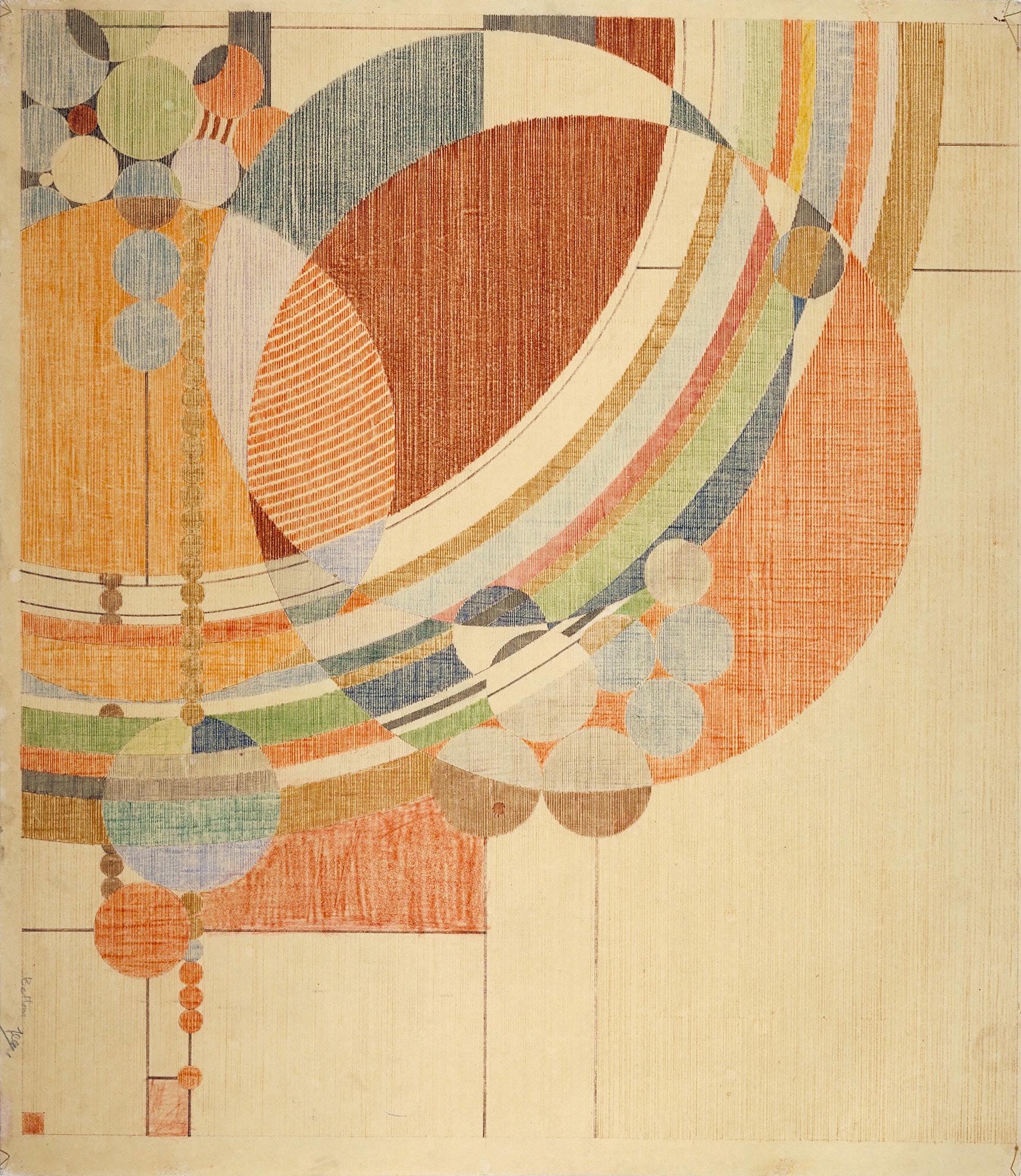 Frank Lloyd Wright Tapestries Ramona Sakiestewa